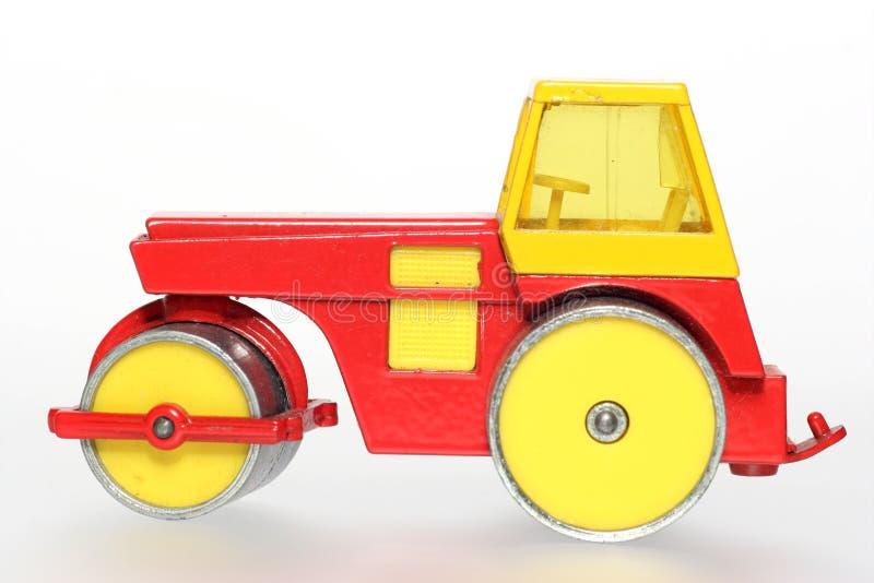 stara rolownika metalowy drogowego zabawka obraz stock