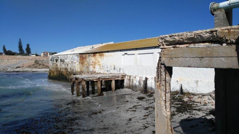 Stara rybia fabryka zdjęcia royalty free