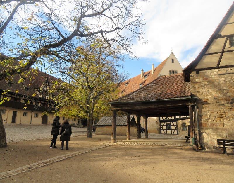 Stara siedziba w Bamberg zdjęcia royalty free