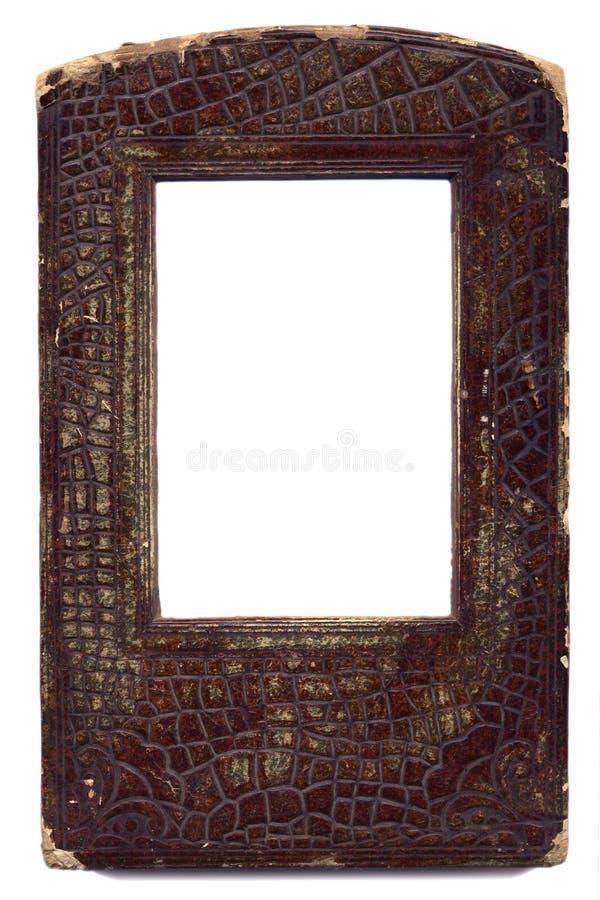 stara skóry naturalnej ramowe fotografia stock