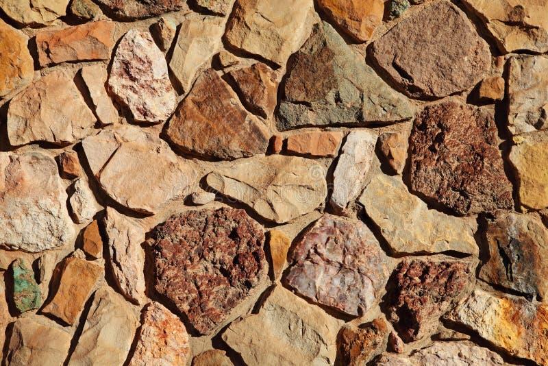Stara skały ściany tekstura zdjęcie stock