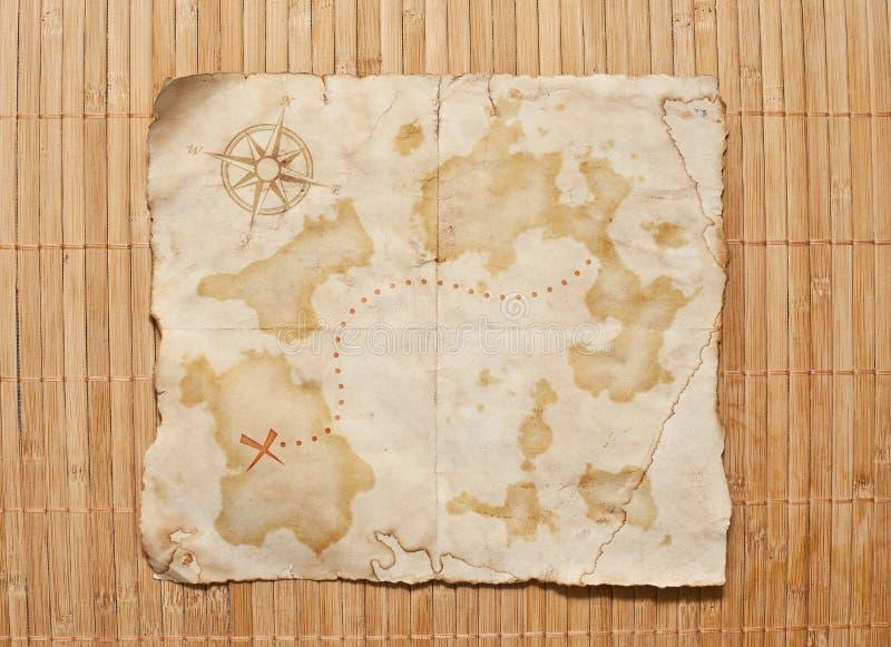Download Stara skarb mapa zdjęcie stock. Obraz złożonej z żegluje - 28961304