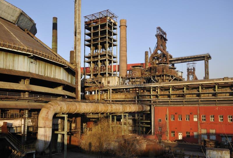 Stara Stalowa fabryka obrazy royalty free