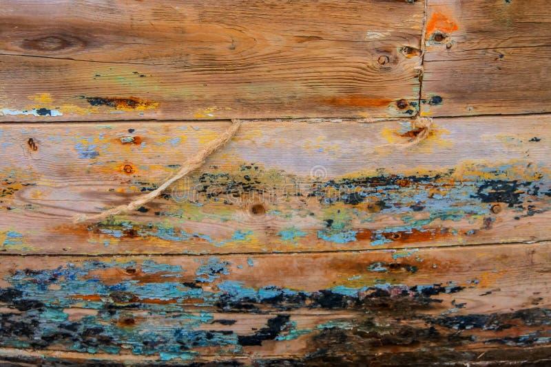 Stara statek łuska zdjęcie stock
