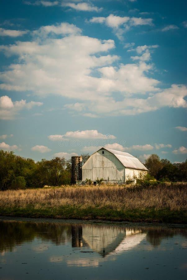 stara stodoła kraju fotografia stock