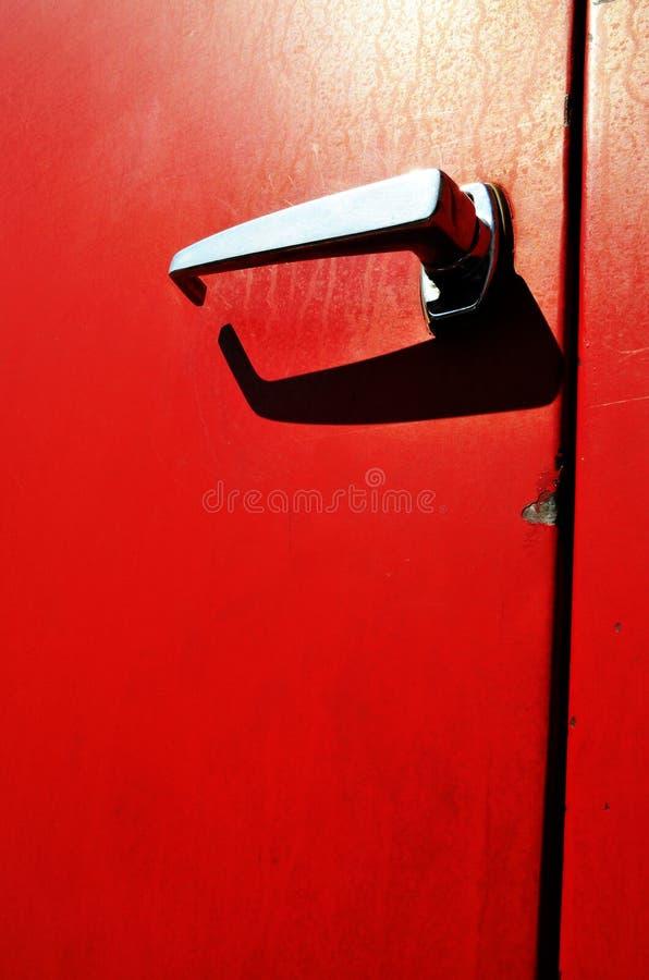 Stara strażak ciężarówki rękojeść zdjęcia stock