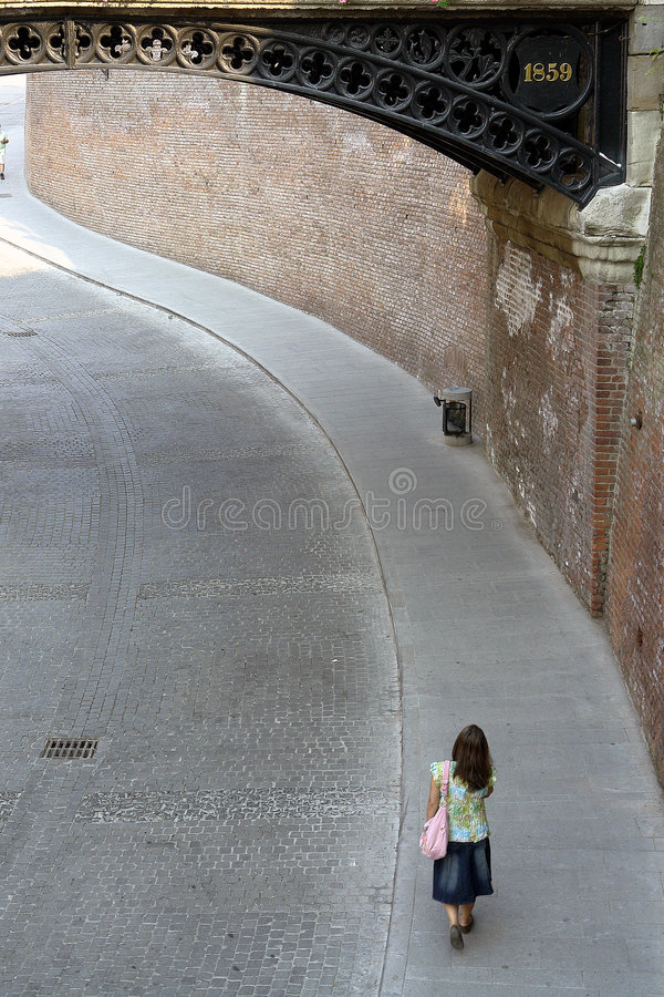 stara street zdjęcie stock