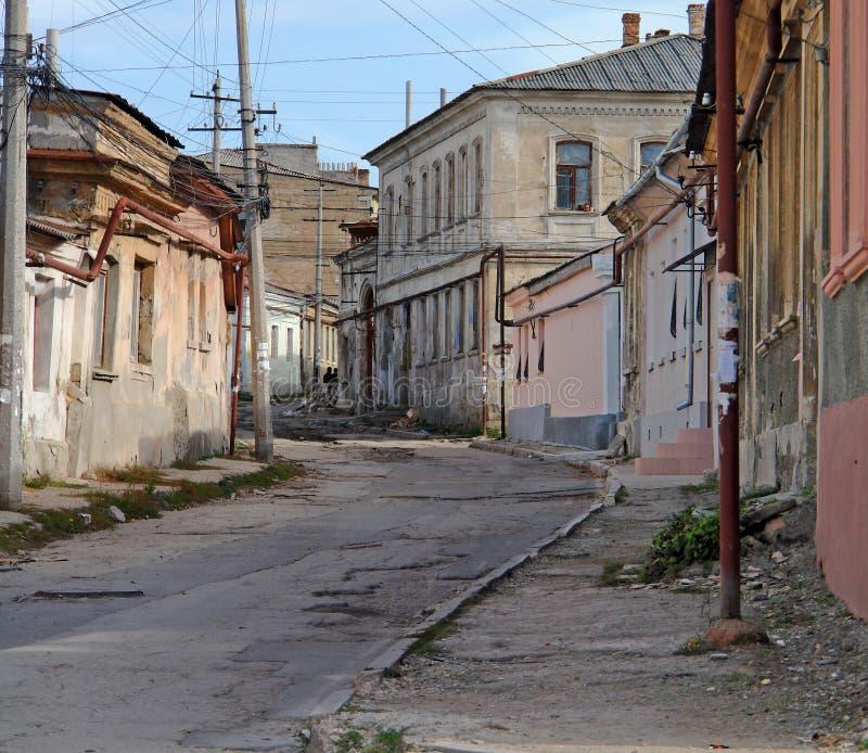 stara street obraz stock