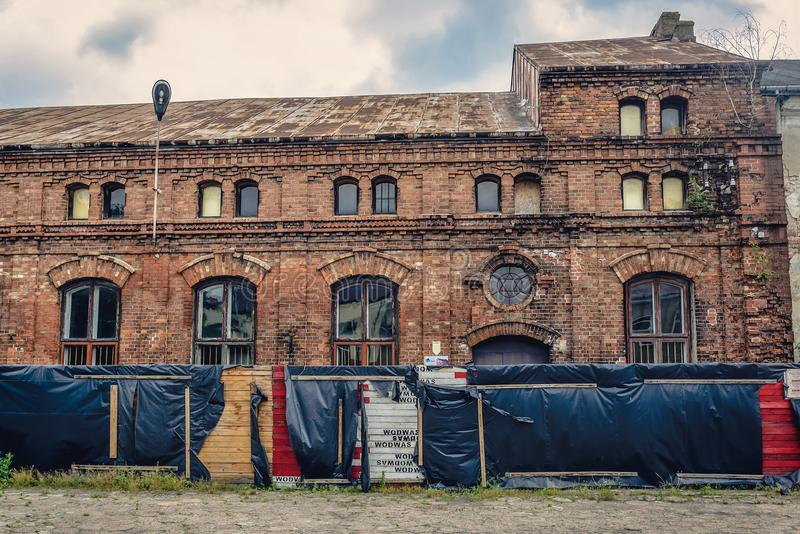 Stara synagoga w Polska obrazy stock