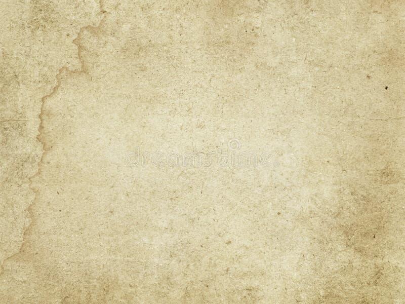 Stara szorstka papierowa tekstura zdjęcia stock