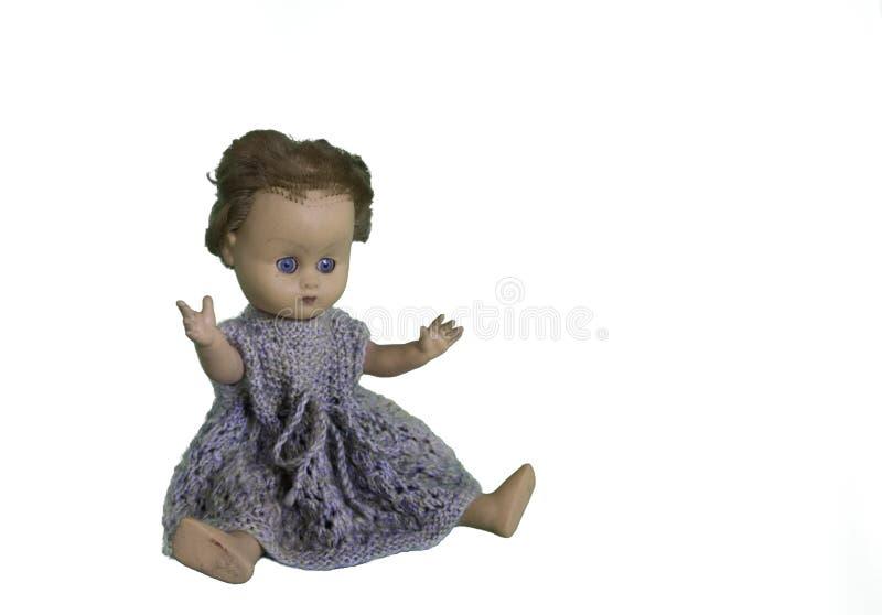 Stara sztuki lala z krótkim włosy zdjęcia royalty free