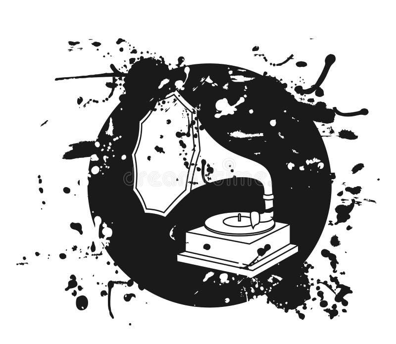 stara sztuki muzyka royalty ilustracja