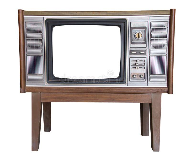 Stara telewizja fotografia royalty free