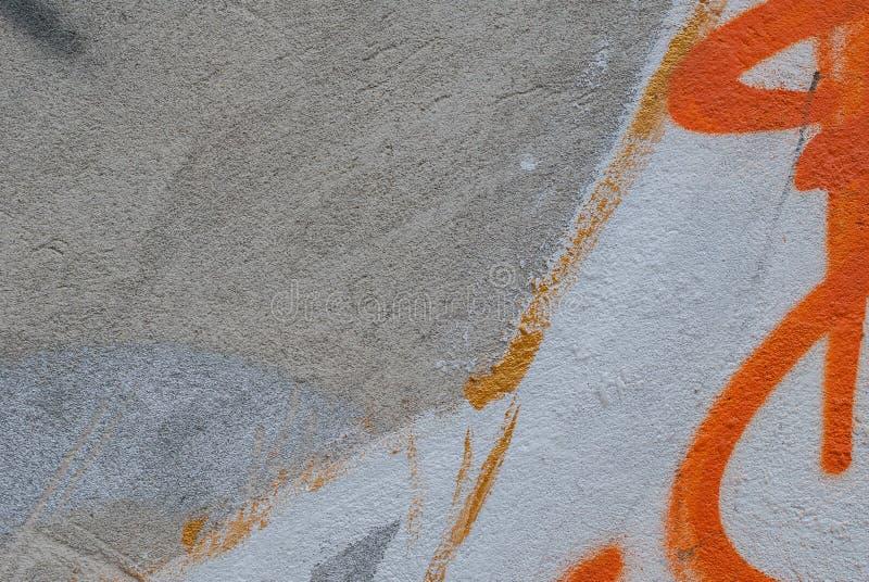 Stara tynk ściana, krajobrazu styl, szara tekstura, tło zdjęcie stock