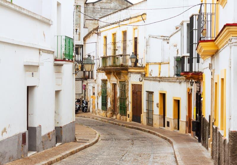 Stara ulica w Jerez De La Frontera, Hiszpania fotografia royalty free