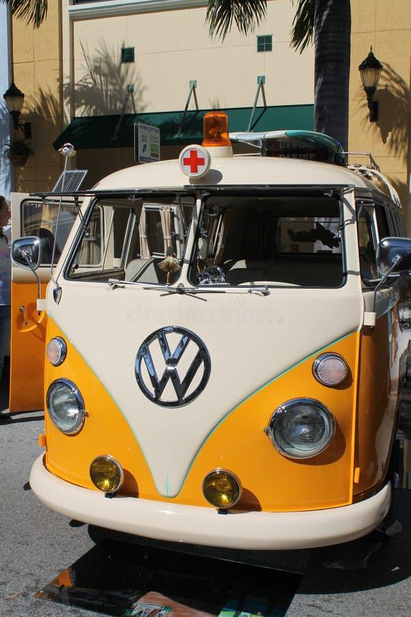 Stara VW karetka obrazy royalty free