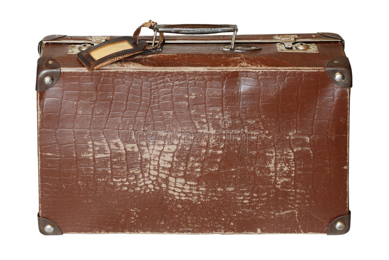 stara walizka zdjęcie stock