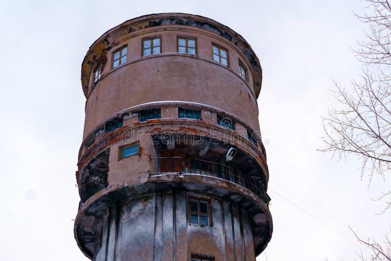 stara wieża wody zdjęcia royalty free