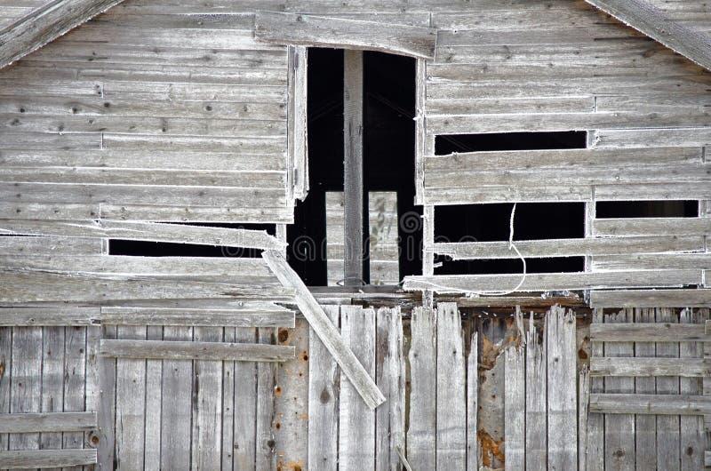 stara wiejska opuszczonego domu obraz stock
