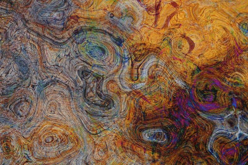Stara wietrzejąca drewniana tekstura z uszkadzającą warstwą abstrakcyjny tło obrazy royalty free