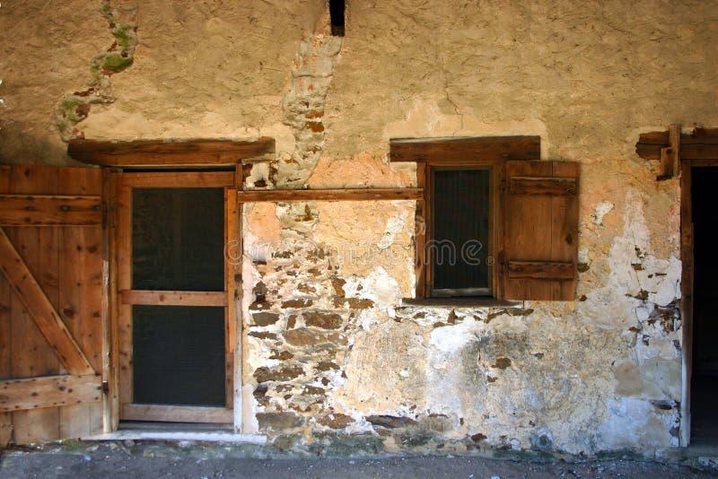 stara willi ściany zdjęcie royalty free