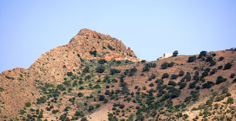 stara wioska morocco obrazy stock