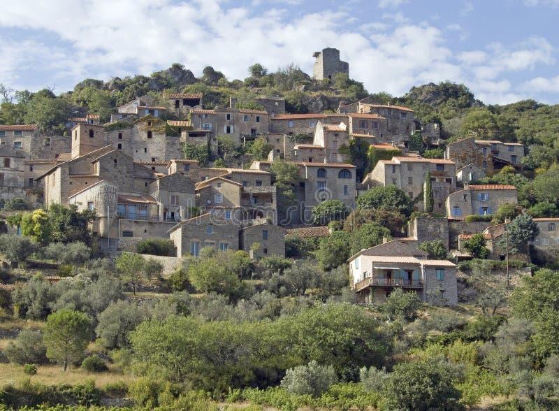 stara wioska południowej francji zdjęcia royalty free