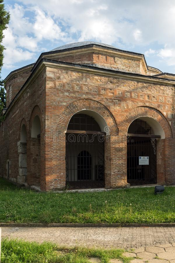 Museum of Religions in the center of city of Stara Zagora, Bulgaria. STARA ZAGORA, BULGARIA - AUGUST 5, 2018: Museum of Religions in the center of city of Stara royalty free stock image
