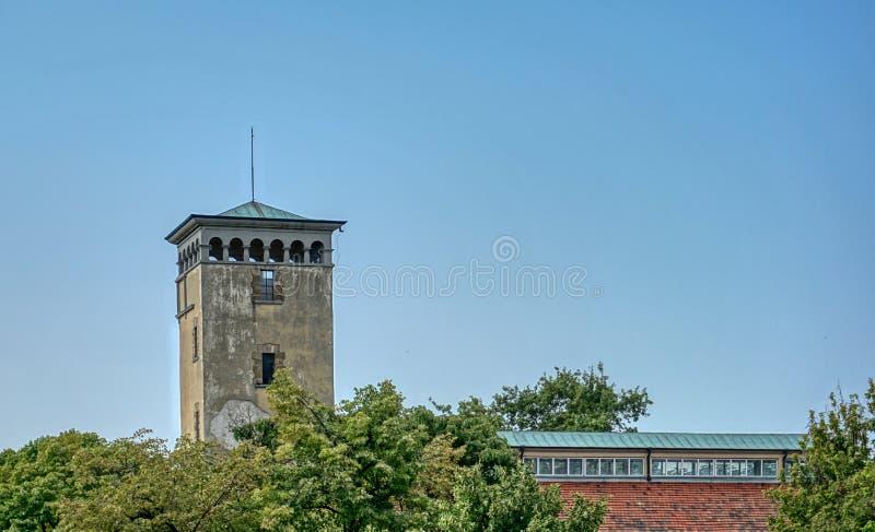 Stara Zagora centrum city halls gallery. Building royalty free stock images