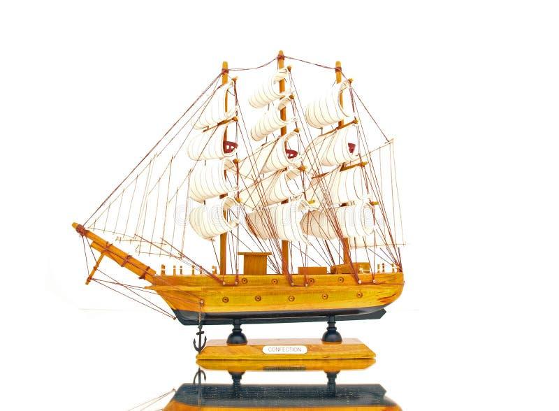 Starboard do navio da vela do vintage foto de stock