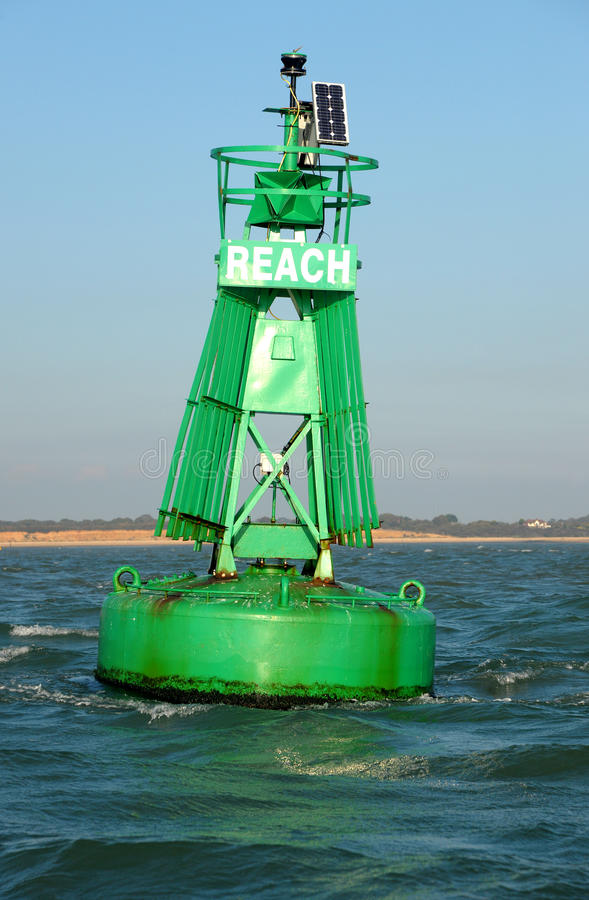 Download Starboard Maritime Buoy. Royalty Free Stock Photos - Image: 21337578