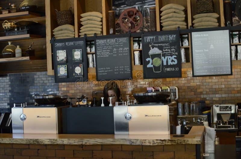 Starbucks royalty free stock photos