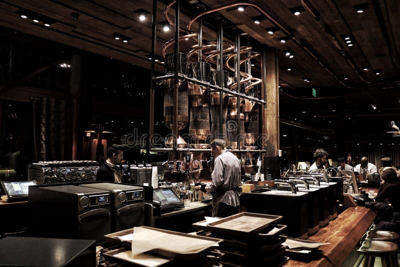 Starbucks a réservé Roastery photographie stock