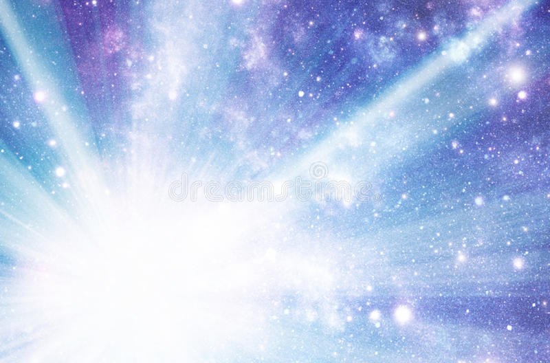 Starburst illustration stock