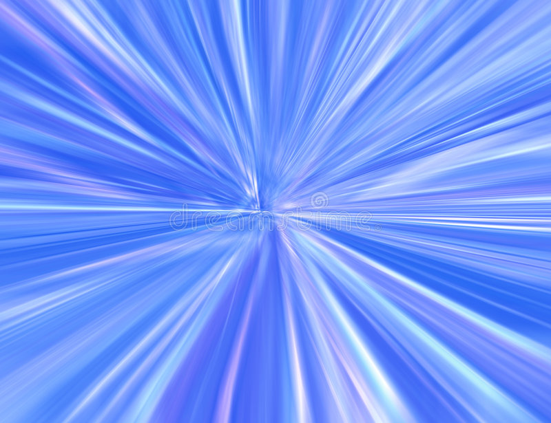 Starburst blu illustrazione di stock