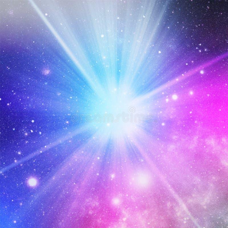 Starburst cosmique illustration libre de droits
