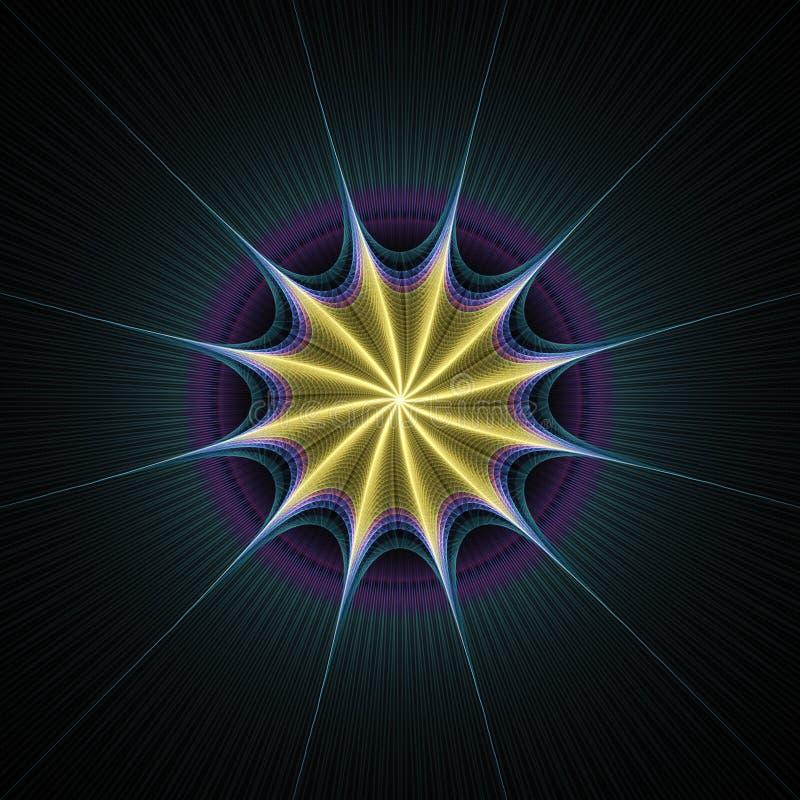 Download Starburst rays stock illustration. Image of light, digital - 4155357
