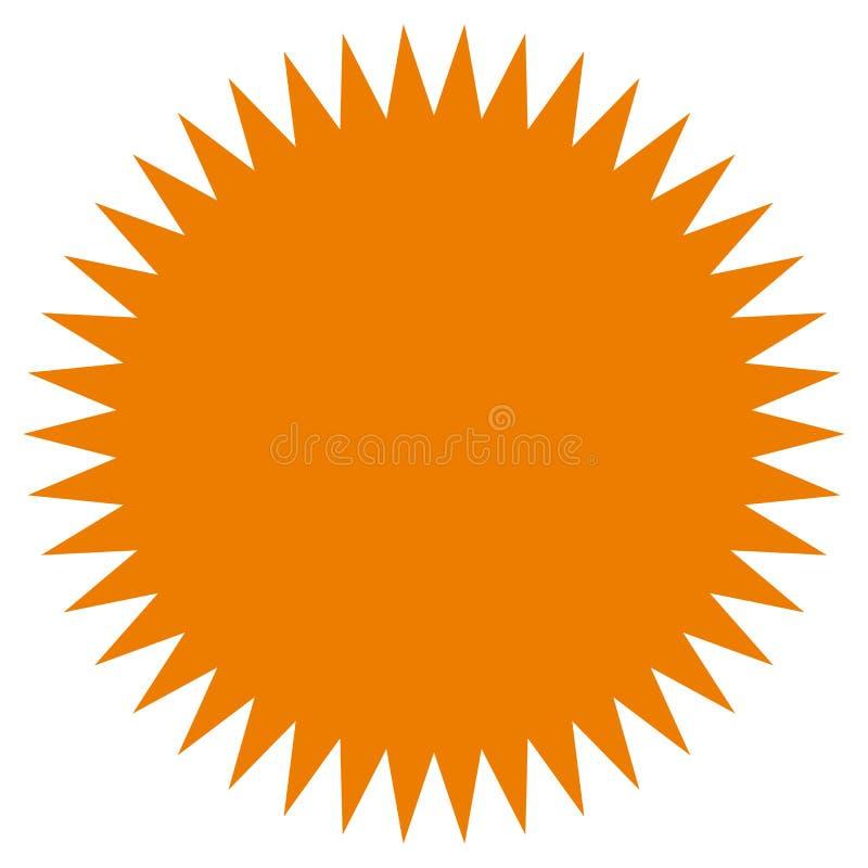starburst sunburst shape flat price tag price flash icon stock rh dreamstime com vector starburst shape starburst vector png