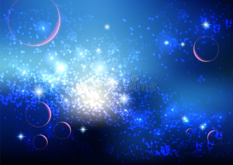 Stardust ilustração royalty free