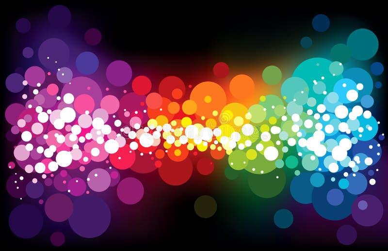 Stardust do arco-íris ilustração do vetor