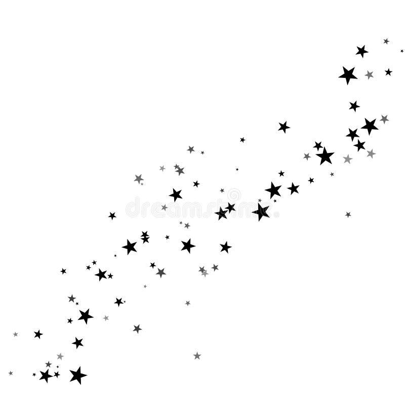 Stardust-Spur, Komet stock abbildung