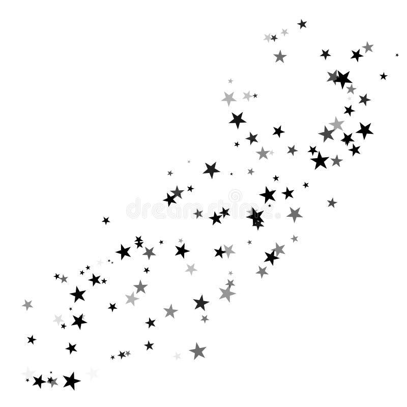 Stardust-Spur, Komet lizenzfreie abbildung