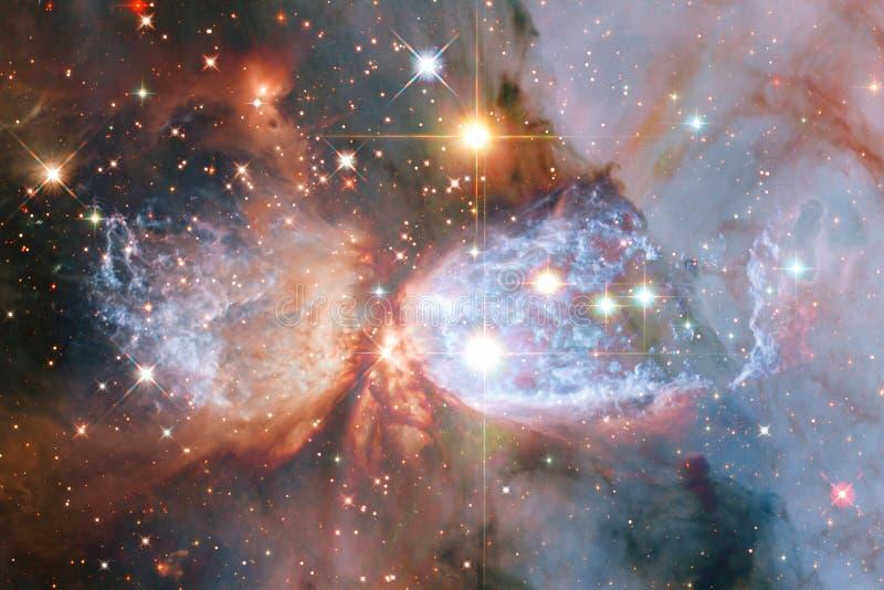 Stardust und Nebelfleck Starfield im endlosen schönen Universum Elemente dieses Bildes geliefert von der NASA lizenzfreie abbildung