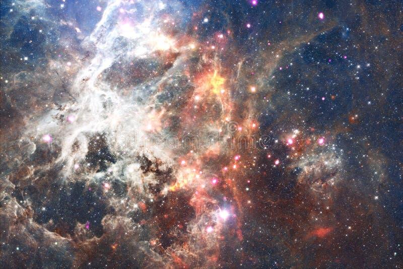 Stardust und Nebelfleck Starfield im endlosen schönen Universum Elemente dieses Bildes geliefert von der NASA vektor abbildung