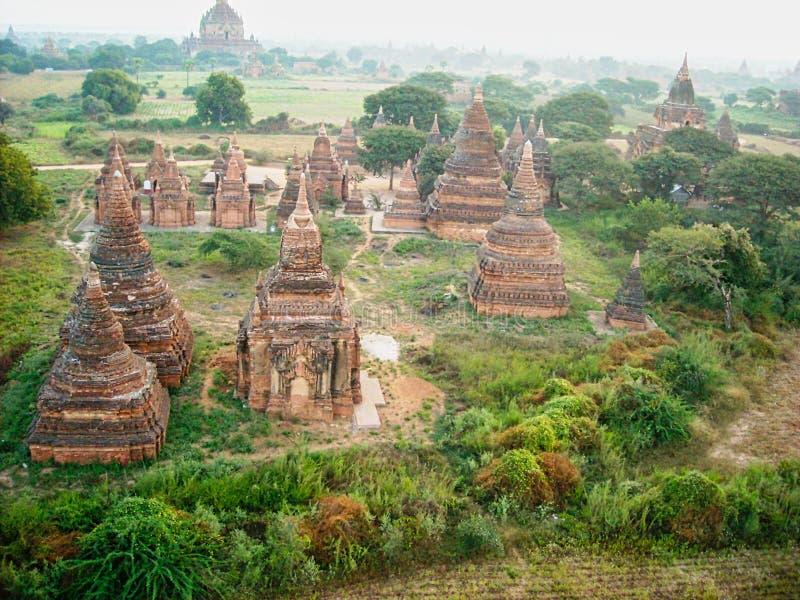 stare świątynie w Vietnam widoku z góry zdjęcie stock