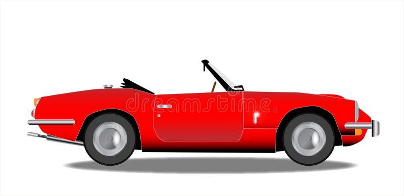 stare auto sport ilustracji