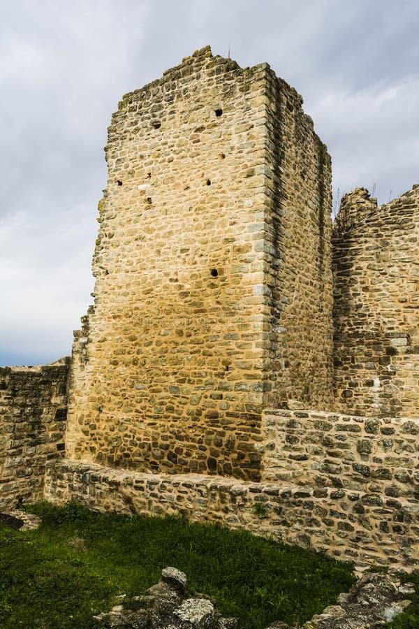 Stare Bizantyjskie Forteczne ściany, Grecja obraz stock