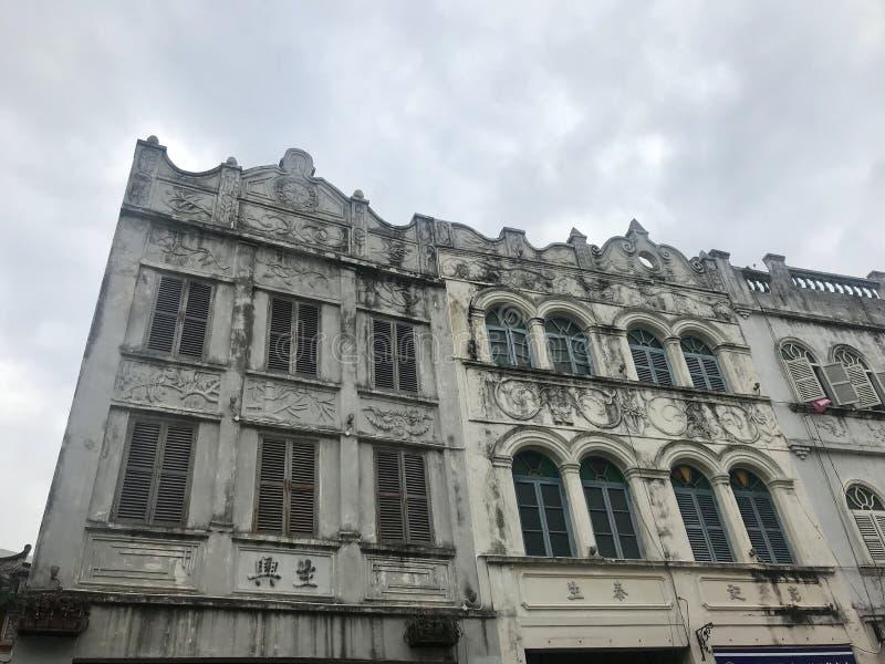 stare budynki fotografia stock