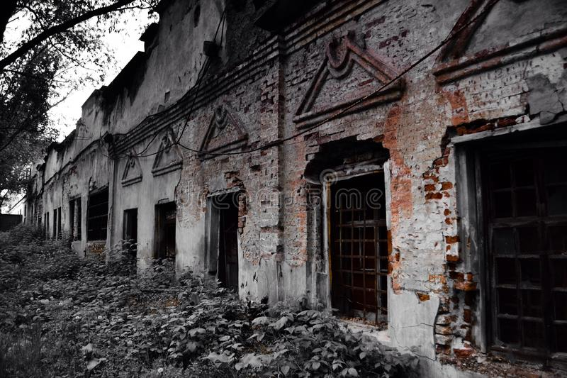 stare budynki obrazy stock