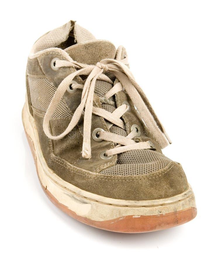 stare buty szkolenia zdjęcie royalty free